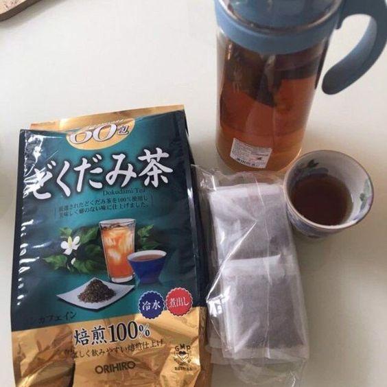 Trà Thải Độc Diếp Cá Orihiro Dokudami Tea - Đồ Uống Dinh Dưỡng TPHCM
