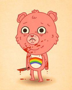 Sweet, Lovely, Bloody Care Bear