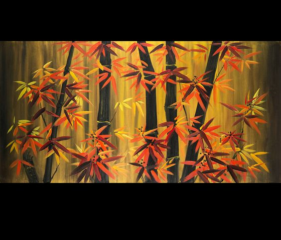 Feng Shui Wall Decor For Office : If you place feng shui bamboo paintings where chi does not