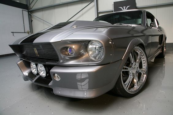 Shelby GT 500 Elenor, love