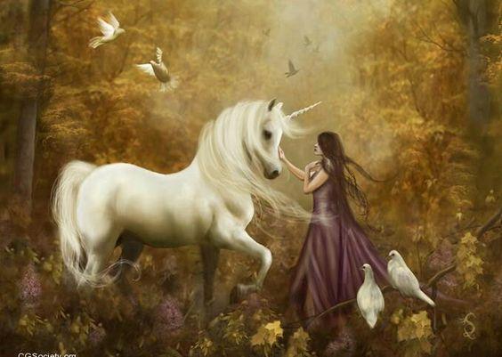 Lady unicornio