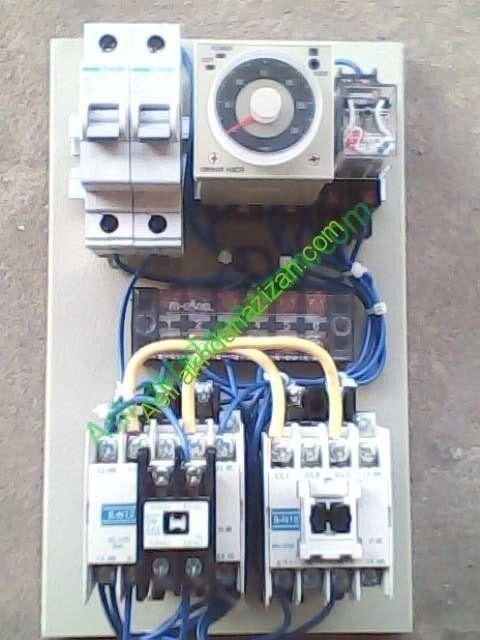 [TVPR_3874]  Rangkaian Kontrol Panel ATS Genset | Daya listrik, Lampu, Diagram | Wiring Diagram Panel Kontrol Genset |  | Pinterest