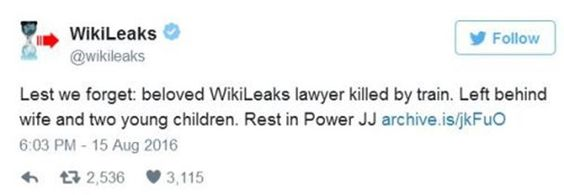 Did Someone Try to Assassinate WikiLeaks Founder Julian Assange? ⋆ The Constitution