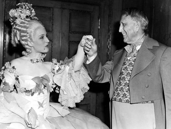 Norma Shearer and William Randolph Hearst at his birthday ...