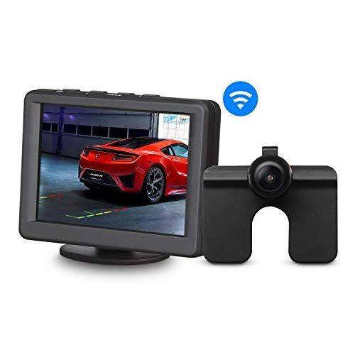 AUTO-VOX M1 Car Backup Camera Kit 4.3/'/' LCD Rear View Monitor Reverse Camera