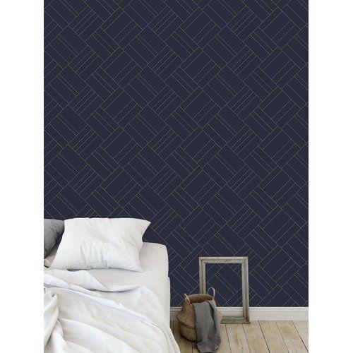 Flara Intersection Mint 48 L X 24 W Peel And Stick Wallpaper Panel Wallpaper Panels Peel And Stick Wallpaper Home Decor