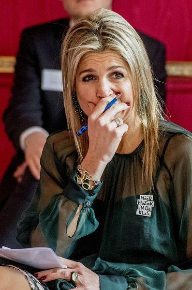 La Reine Maxima Des Pays Bas AÌ€ La Haye Le 22 Mars 2017 12