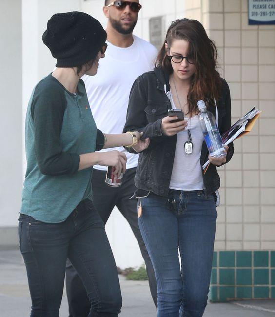 Kristen Stewart & Rumored Girlfriend - http://oceanup.com/2014/01/11/kristen-stewart-rumored-girlfriend-out/