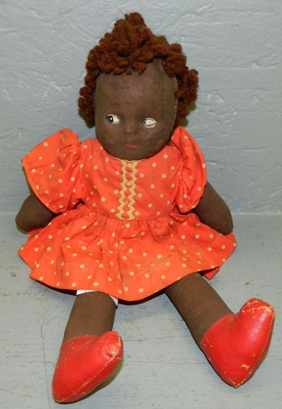 Folk Art Rag Doll