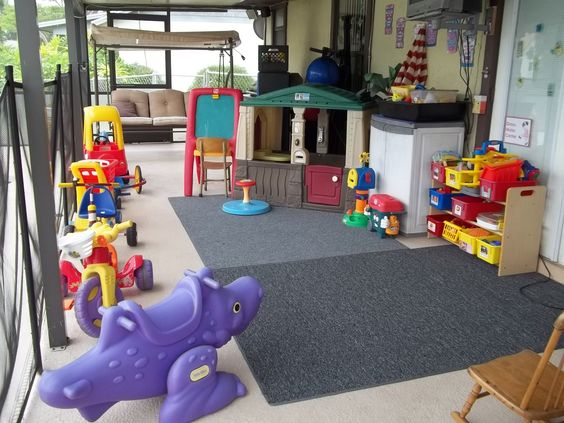Under Cover Outside Play Area My In Home Preschool
