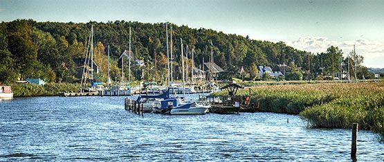 Seedorf Segelhafen Insel Rügen
