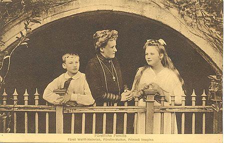 Die Fürstliche Familie von Stolberg/Harz Ansichtskarten Sammlung von Hans Jürgen Schräpler
