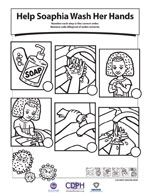Wash your hands worksheet color page | Kids kitchen | Pinterest ...