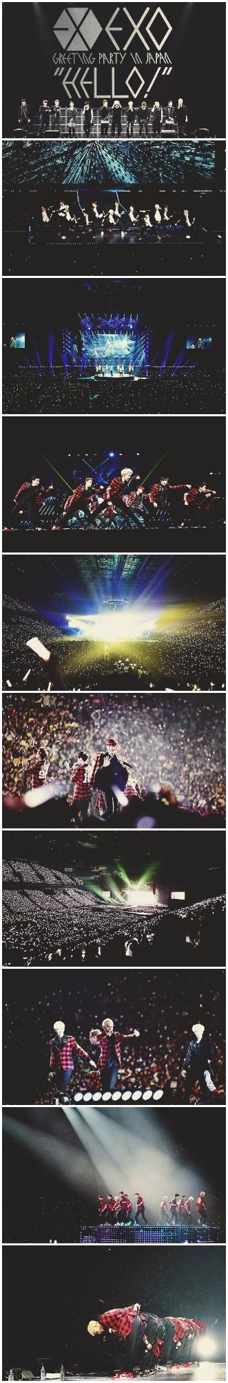 """EXO - """"Hello!"""" Greeting Party in Japan"""