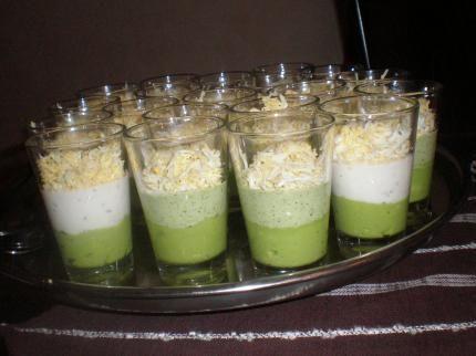 Verrine avocat thon oeuf dur recette mayonnaise et mixeur - Cuisiner du thon en boite ...