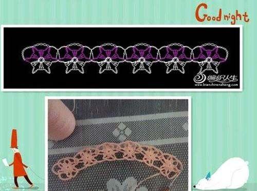 Moldes para tejer una tunica a crochet para niñas07