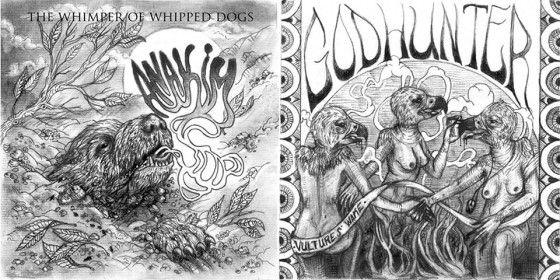 Godhunter/Anakim share a split on low end, brutally composed tunage. Definitely worth a listen!