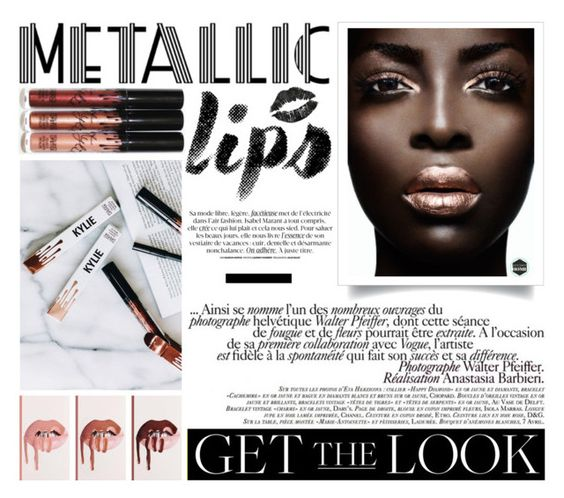 """""""Untitled #339"""" by riell-projecthome ❤ liked on Polyvore featuring beauty, La Femme and metalliclips"""