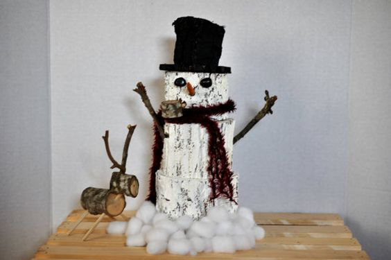 christmas decorations snowman decorations by Elevatedpartysupply