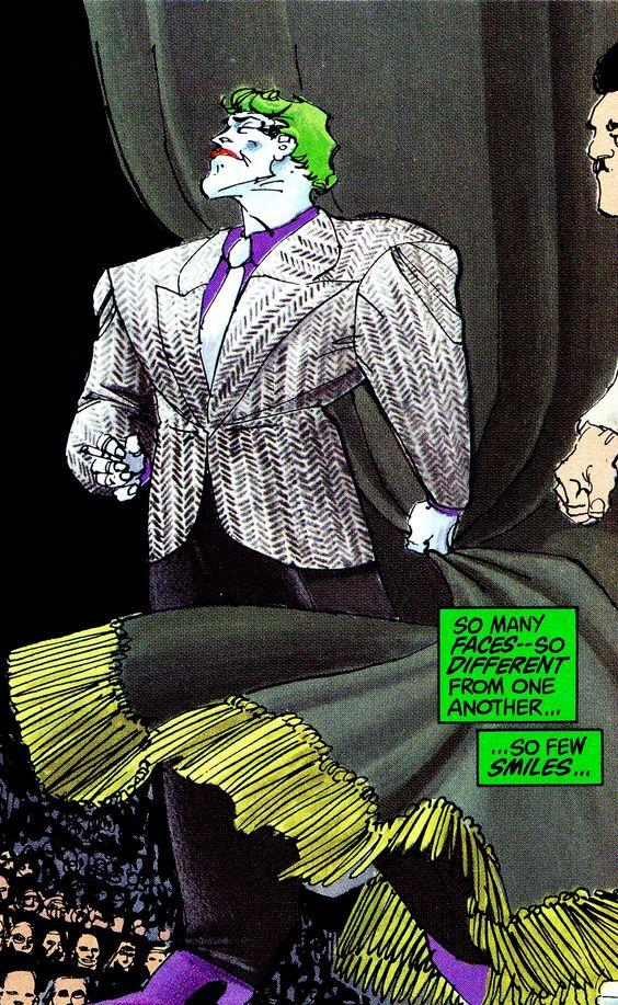 Joker on the David Endocrine Show THE DARK KNIGHT RETURNS ...