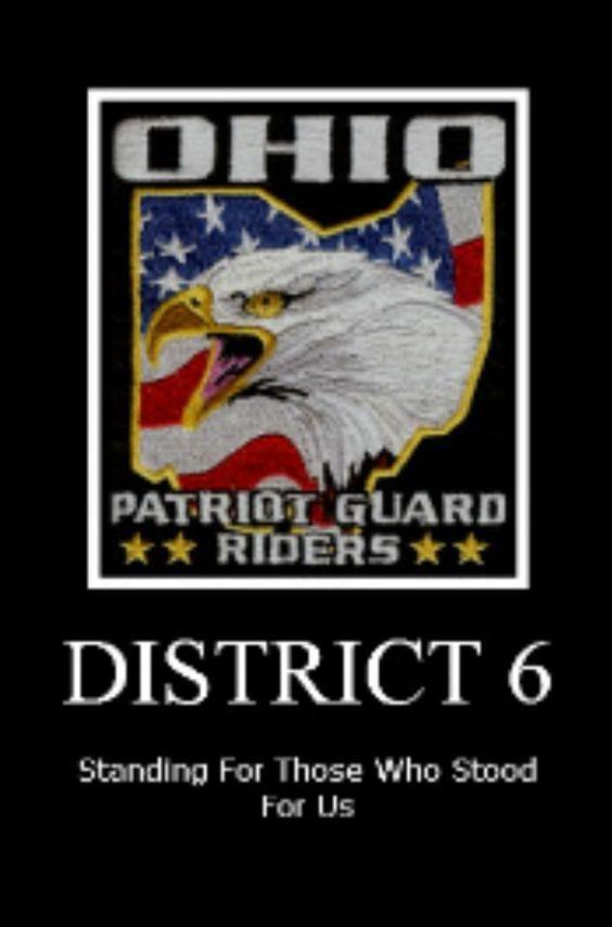 OHIO PGR: Guard Riders, Ohio Patriot, Patriot Guard Rider, Ohio Pgr