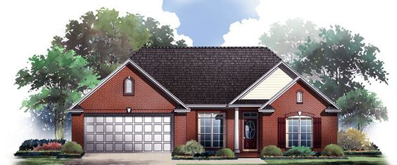HDC-1606-1-The Summerhaven is a 1,606 sq. ft./ 3 bedroom/ 2 bath house plan that you can purchase for $690.00 and you can view online at http://www.homedesigncentral.com/detail.php?planid=HDC-1606-1