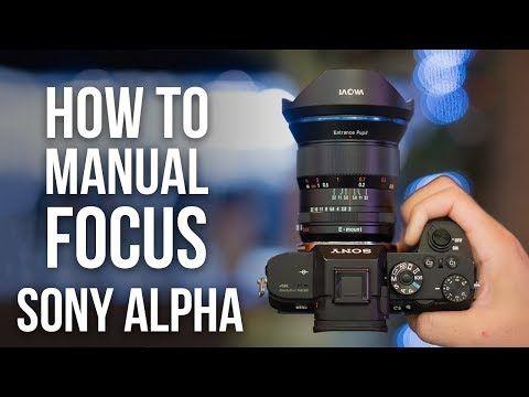 Sony a7ii manual focus