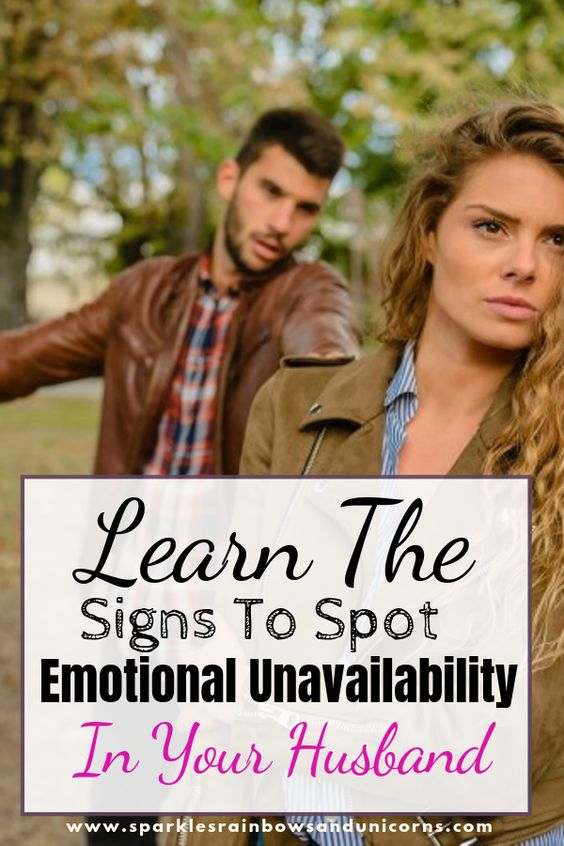 Maybe you feel like the connection is lost. Your husband seems more like a   roommate than a spouse. He does his own thing and isn't all that   interested in what's going on with you. Find out if your husband might be emotionally unavailable.