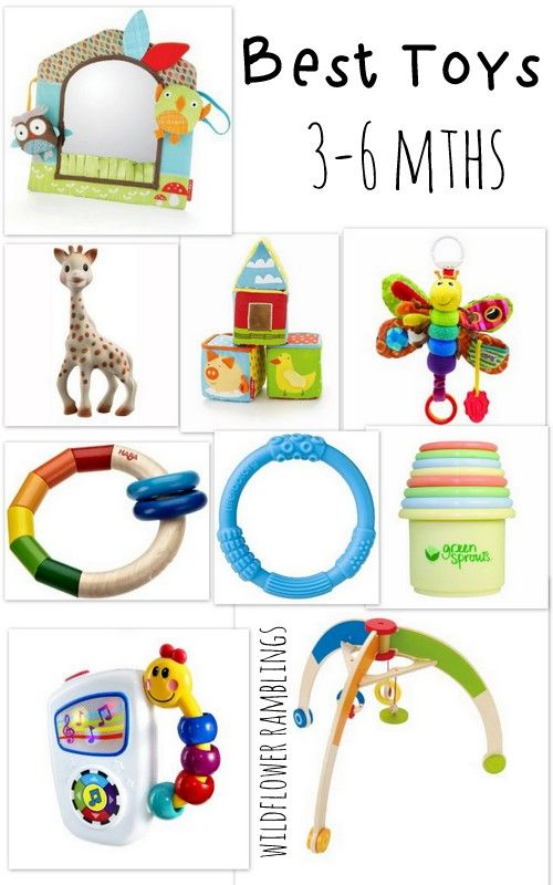 Toys For 6 Month Old Baby Boy : Best baby toys to months and