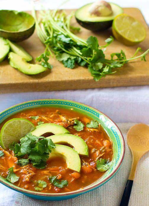 Paleo Chicken Tortilla Soup