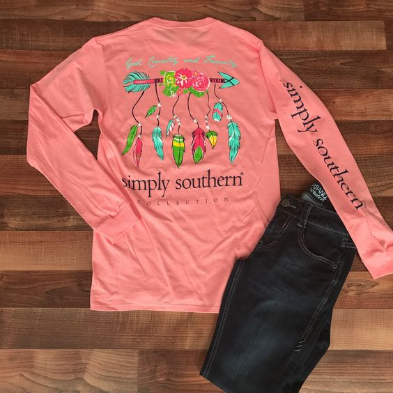 New Long Sleeve Simply Southern Tees are here! We love the color of this God, Country and Family tee. Available in small, medium, large, and XL. $25 | Shop this product here: http://spreesy.com/shopthelittleblackdress/237 | Shop all of our products at http://spreesy.com/shopthelittleblackdress    | Pinterest selling powered by Spreesy.com