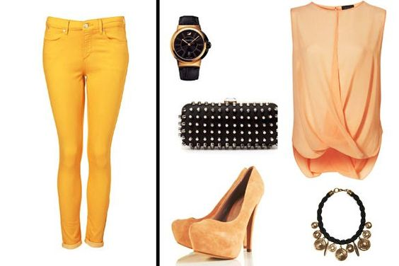 Casual fashion style for summerspring