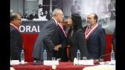 PPK y Keiko Fujimori: el encuentro de los candidatos en JNE. April 19, 2016