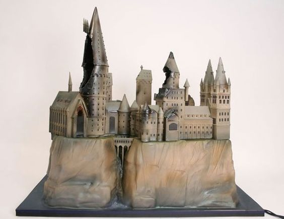 Astonishing Harry Potter Cake