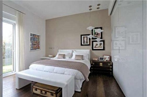 Decoracion dormitorios matrimoniales espacios peque os - Decoracion dormitorios pequenos matrimoniales ...