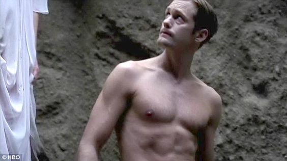 Vampire problems: A new trailer released on Saturday for the upcoming sixth season of True Blood featured shirtless vampire Eric Northman, portrayed by Alexander Skarsgard