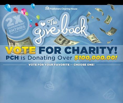 Deborah Holland says....Can you keep a dry eye when you watch these videos? Please vote today and every day for the charity of your choice to help #PCH give back! Share The Give Back link with your friends, so they can vote for their favorite charity