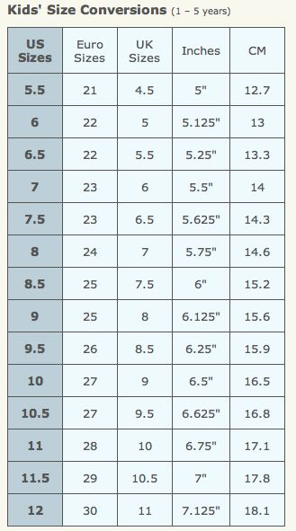 Correct Shoe Size For Height