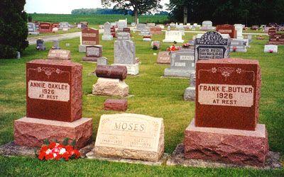 Annie Oakley Died