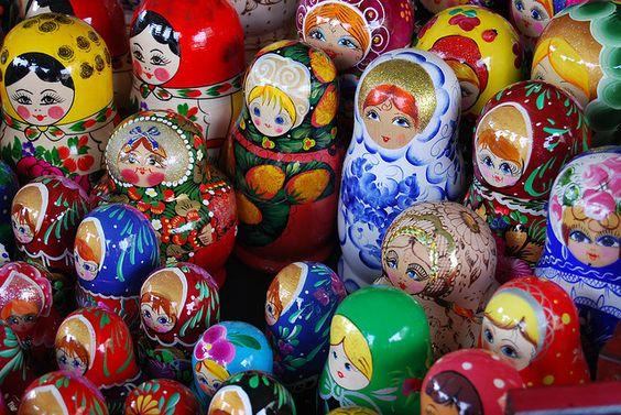 A set of authentic baboushkas.