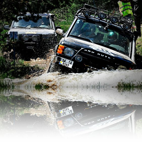 Land Rover Discovery Off Road Accessories: Land Rover Discovery 2 V8 Off Road Su Geçişi