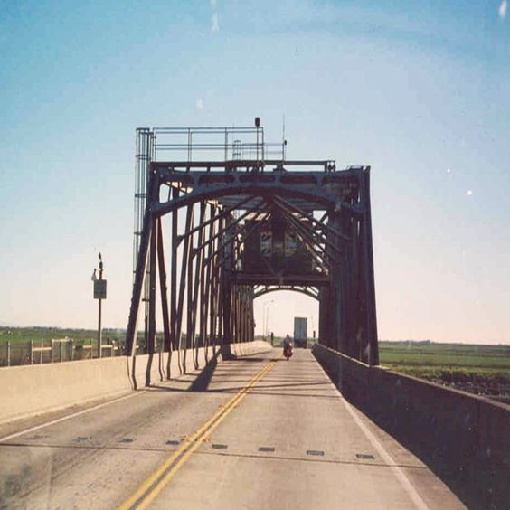 Old bridge in Kansas