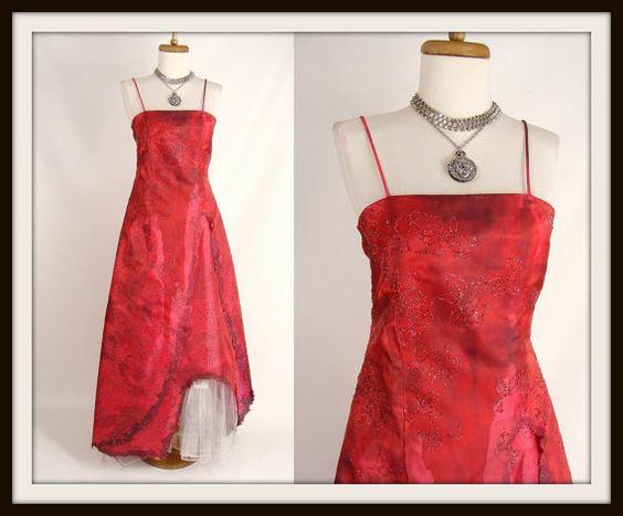 I clothing red dress zombie
