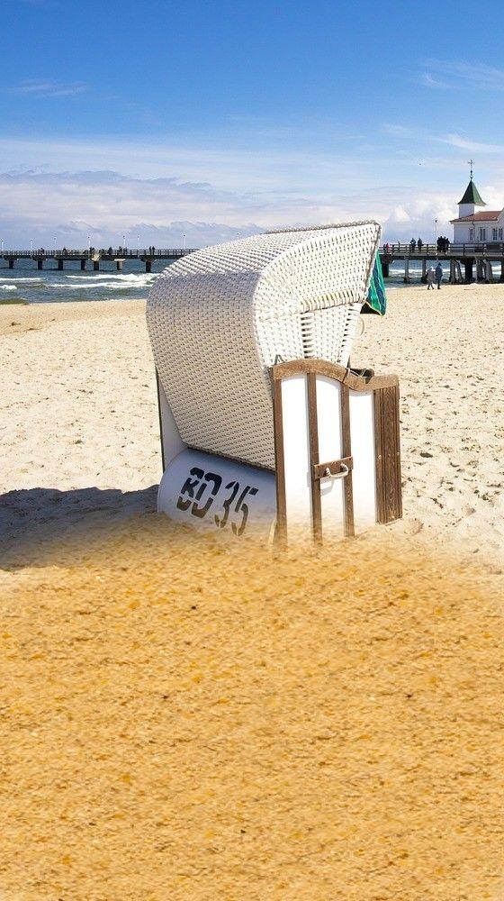 Ein Hauch von Strandurlaub bei Ihnen Zuhause - mit einem Strandkorb im garten werden Sie den Sommer noch mehr genießen können!... *Pin enthält Werbelinks