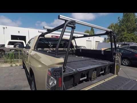 truck bed rack leitner designs