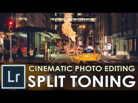 Lightroom cc split toning