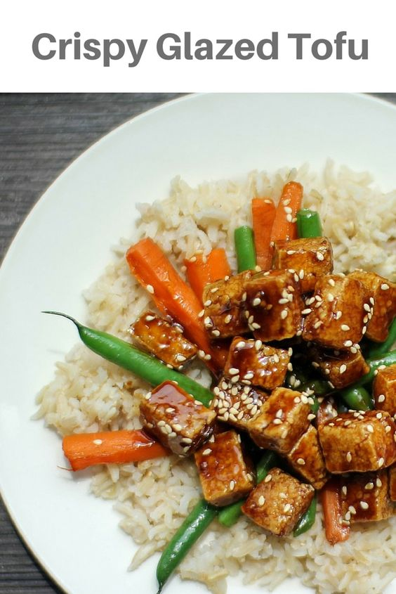 Crispy Sesame Tofu, so delicious you can't even tell it's tofu! The ...