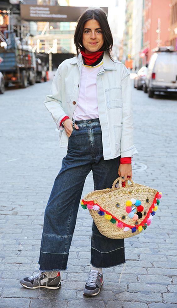 Da praia pras ruas: bolsa de palha é o item desejo da estação - Com estilo: