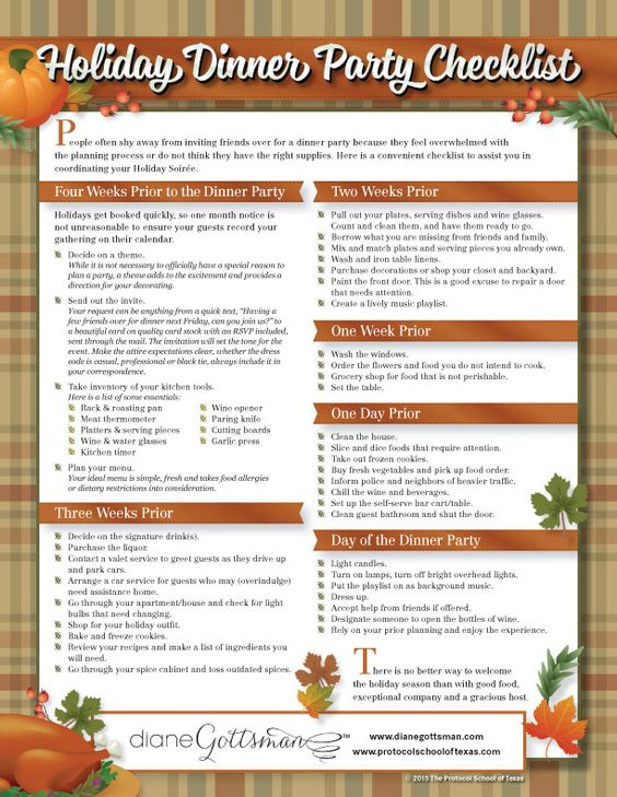 8c4d292c9c40155ced66cc7a547453ae--party-checklist-holiday-dinnerjpg - christmas preparation checklist