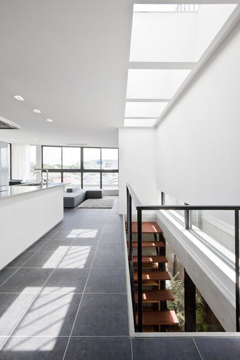 upsetters architects   house in eifukucho